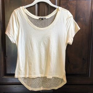 Urban outfitters mesh tee.